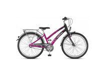 Vlo enfant Puky Skyride 24-3 Alu rose/noir